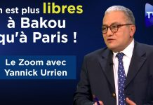 Zoom - Yannick Urrien : On est plus libres à Bakou qu'à Paris !