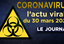 JT - Coronavirus : le point d'actualité - Journal du lundi 30 mars 2020