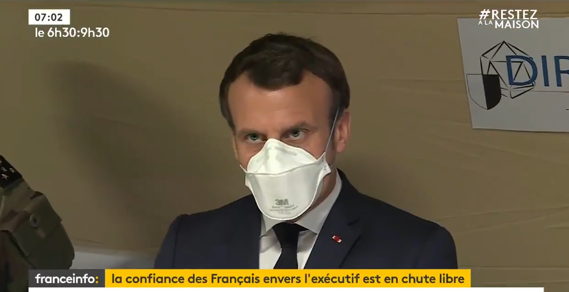 L'allocution d'Emmanuel Macron sur le Covid-19 — En direct