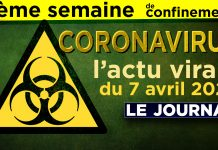 JT - Coronavirus : le point d'actualité - Journal du mardi 7 avril 2020