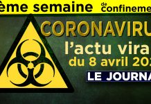 JT - Coronavirus : le point d'actualité - Journal du mercredi 8 avril 2020