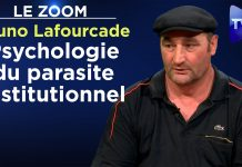 Zoom - Bruno Lafourcade : Psychologie du parasite institutionnel