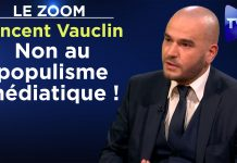 Zoom - Vincent Vauclin : Non au populisme médiatique !