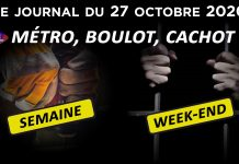 Covid 19 : La 2ème vague de confinement arrive - JT du mardi 27 octobre 2020