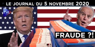 Election américaine : Trump face à la fraude ? - JT du jeudi 5 novembre 2020