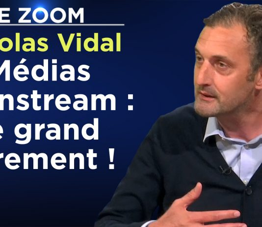 Zoom - Nicolas Vidal : Médias mainstream : le grand errement !